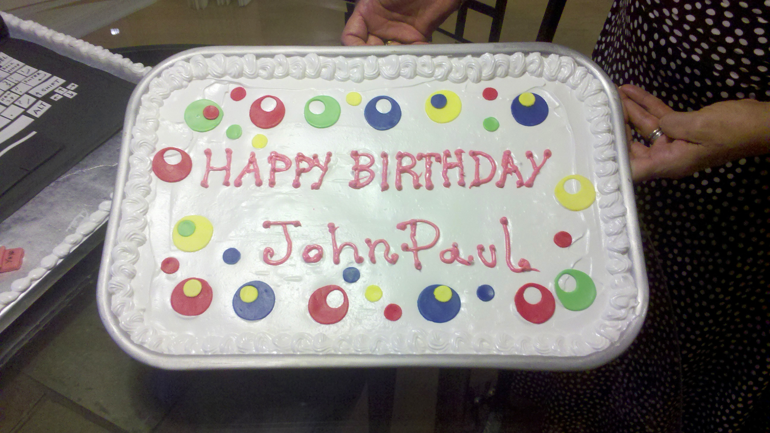 John Paul De Vivo's Birthday Cakes  My Yayas Cakes